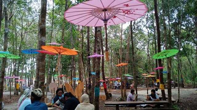 Pasar pencinta Vegetarian di Belitung yang unik menjadi tempat Wisata