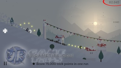 Alto's Adventure 75k Trick Points