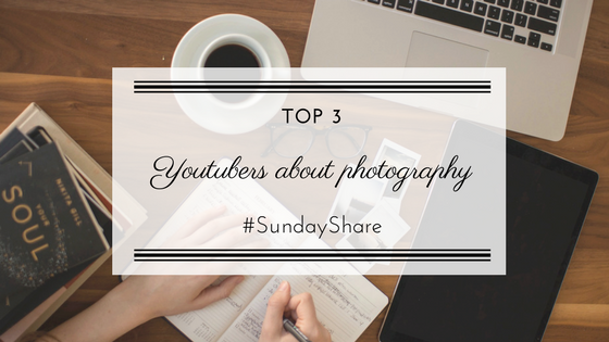 Top 3 Photography YouTubers | Sunday Share. Find out who I watch on YouTube when I need advice about photography or gear. Porty's Diary.