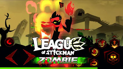League of Stickman Zombie v1.2.0 Mod Apk Free Shopping Terbaru 2016