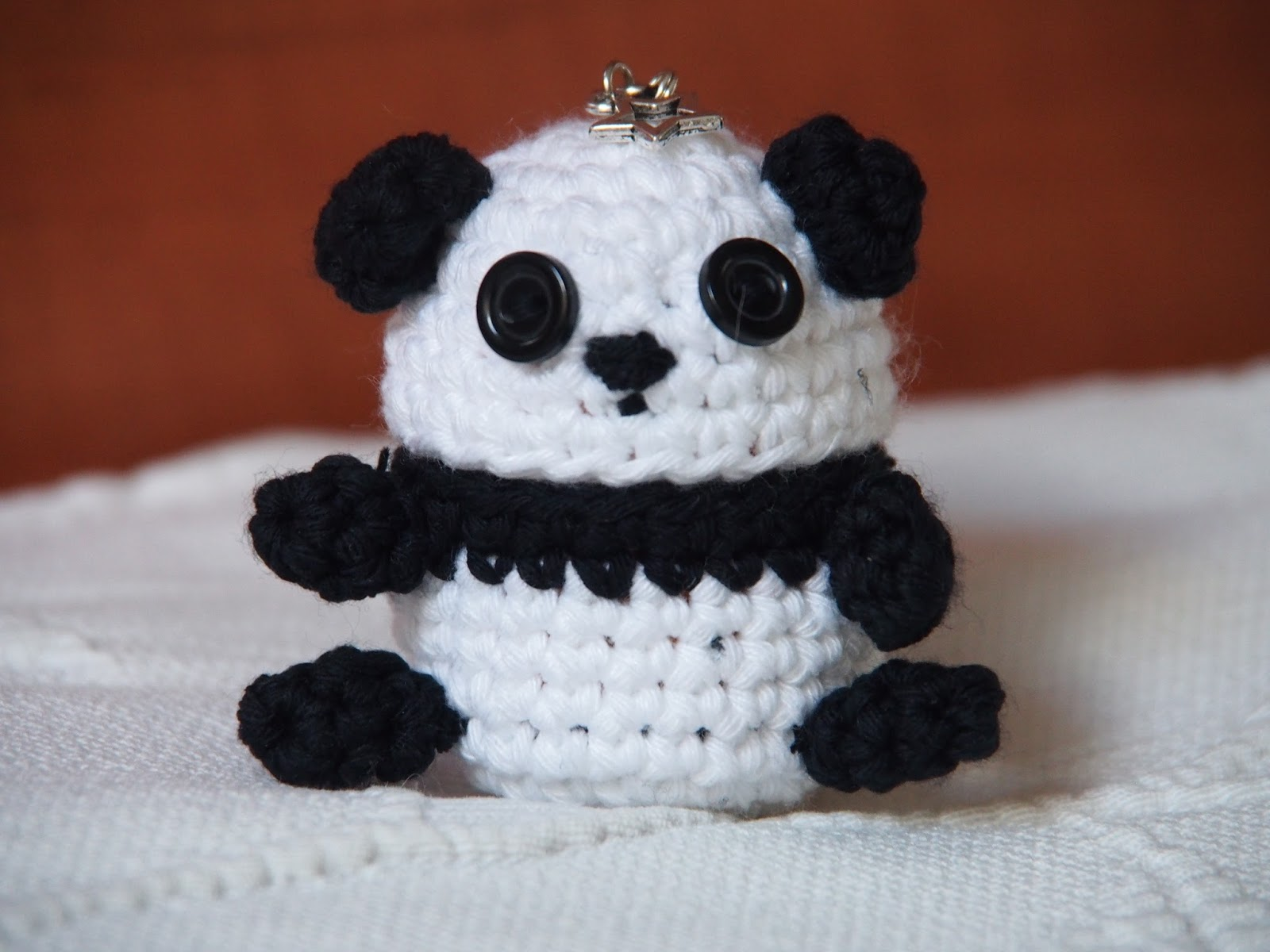 Oso panda Amigurumi | meloquedo | 1200x1600