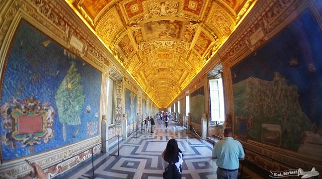 Galeria dos Mapas, Museus Vaticanos, Vatican Museum, Vaticano