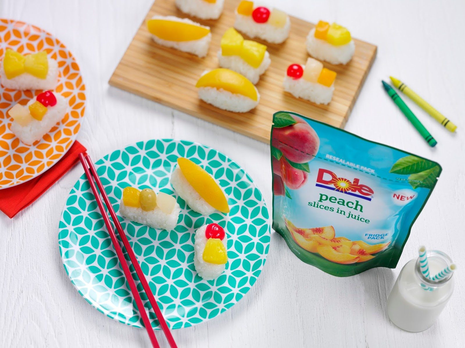 How To Make Kids' Fruit Sushi Or 'Frushi'