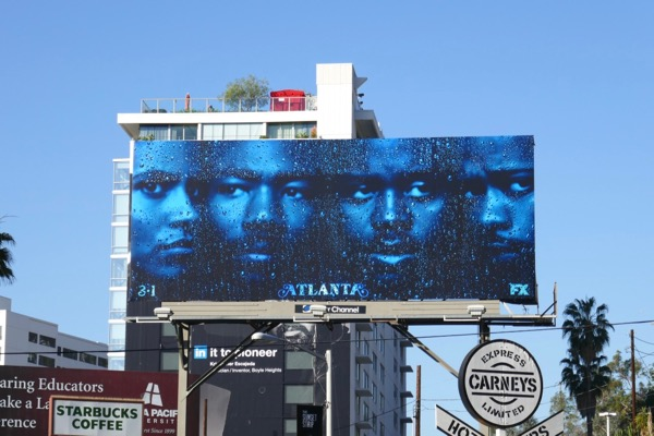 Atlanta season 2 FX billboard