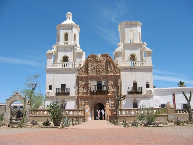 Simply By Sarah: San Xavier Del Bac....different kind of ...