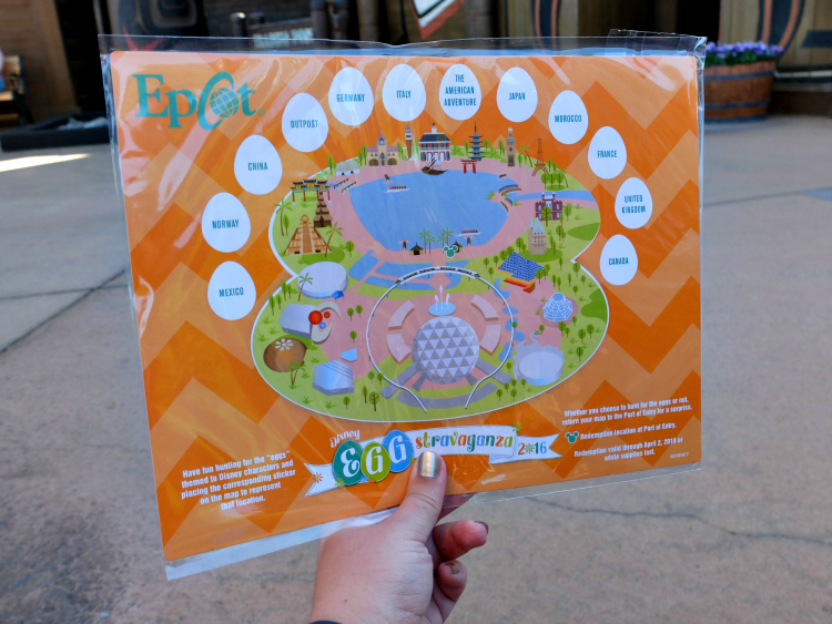 Epcot Easter Egg Hunt Eggstravaganza 2016, Walt Disney World