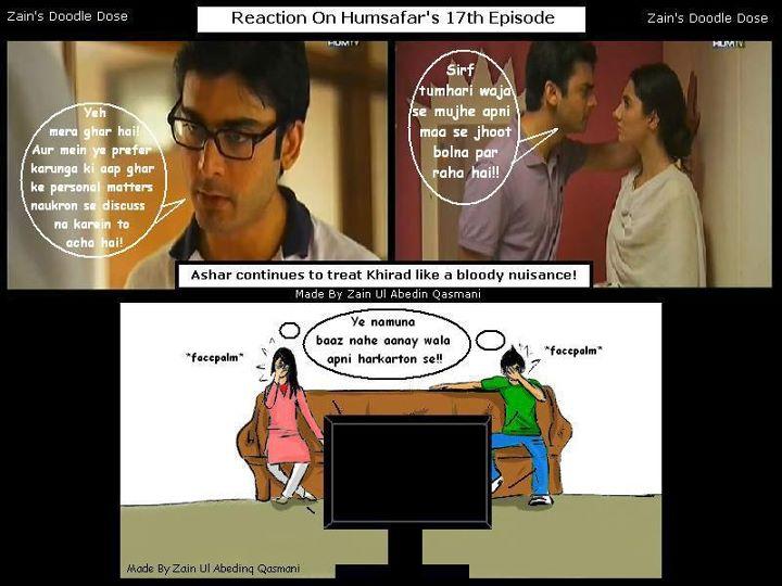 Drama Humsafar     Mahira dresses   All in One