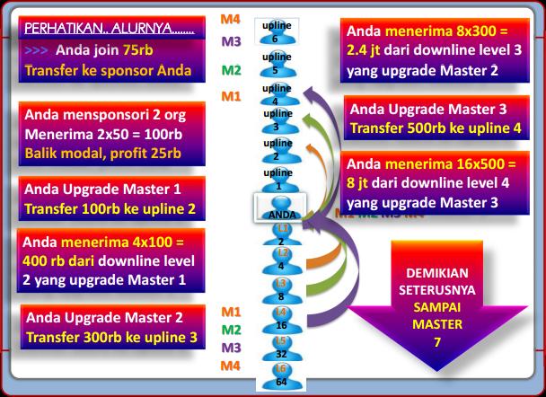 Mekanisme Upgrade Master 50 Club