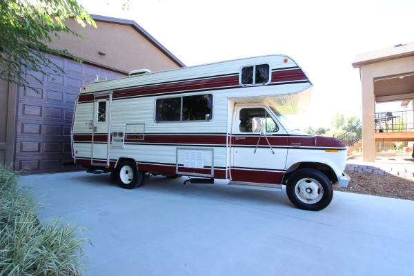 used rvs 1978 brougham ford rv for sale for sale by owner. Black Bedroom Furniture Sets. Home Design Ideas
