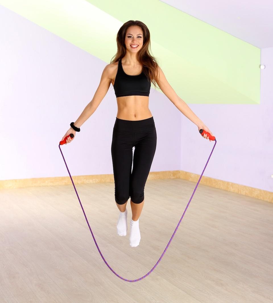 Скакалка Для Похудения Ног. Сколько нужно прыгать на скакалке, чтобы похудеть?