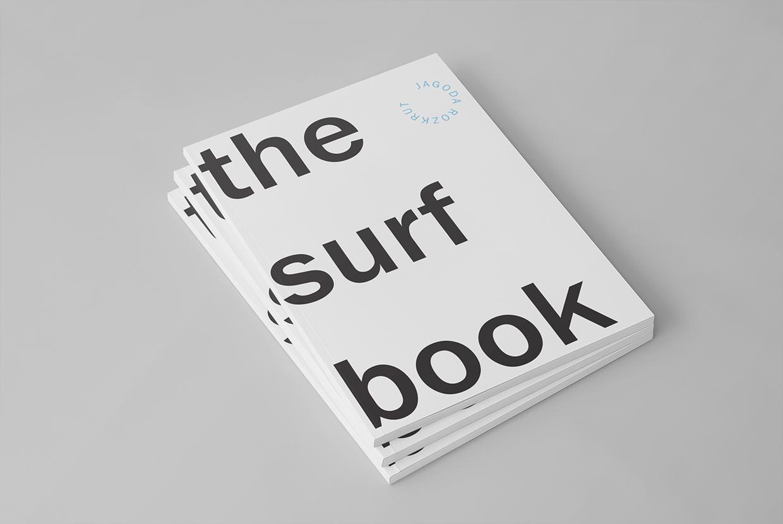 Surf Book: el ejercicio tipográfico de Jagoda Rozkrut