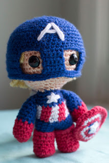 free Marvel crochet patterns
