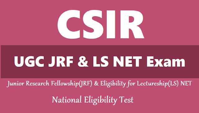 CSIR-NET Earth Science question paper and answer keys