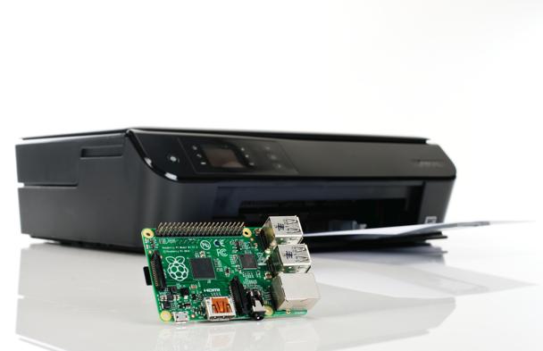 Adicionando impressoras ao servidor de impressão gerido por um Raspberry Pi