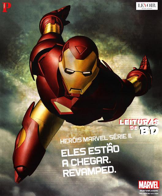 d9ba0f436af9b Leituras de BD  Reading Comics  Lançamento Levoir   Público  Heróis ...