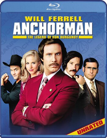 Anchorman The Legend of Ron Burgundy (2004) Dual Audio Hindi 720p BluRay Movie Download