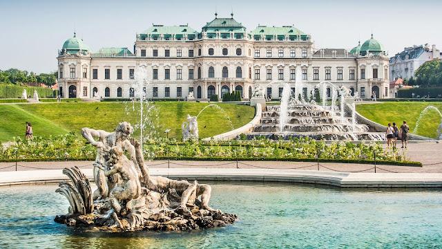 wiedeń, austria, majówka
