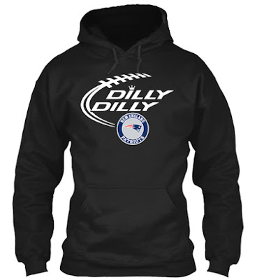 Dilly Dilly New England Patriots T Shirts Hoodie Sweatshirt 2018