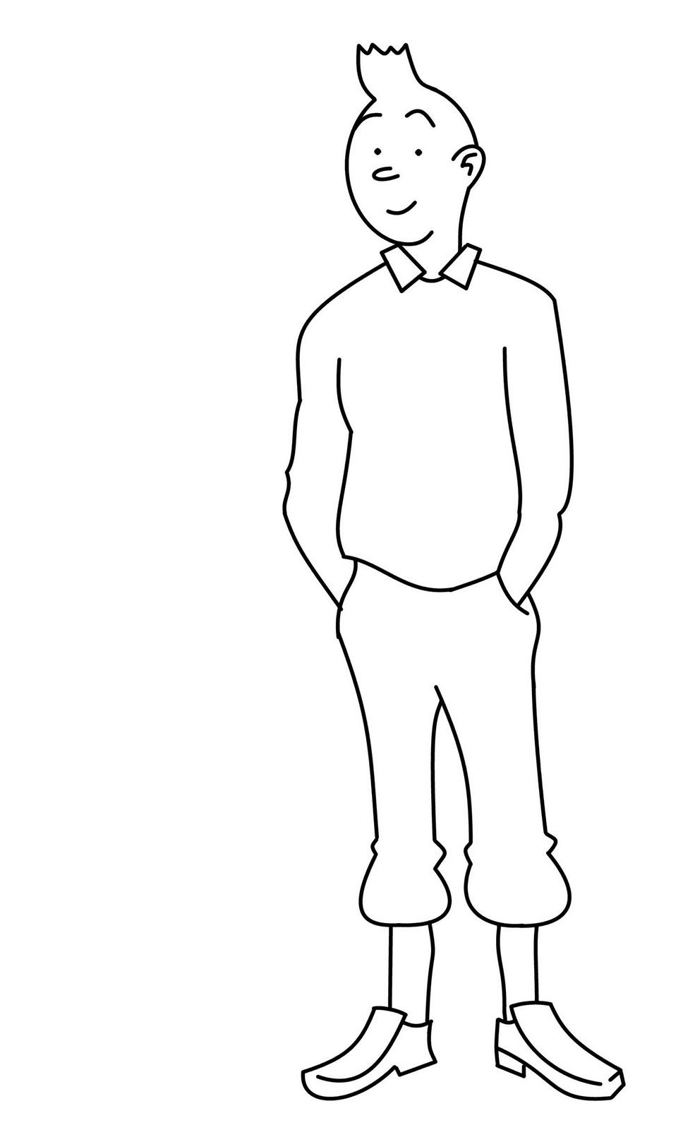 How To Draw Cartoons: Tintin
