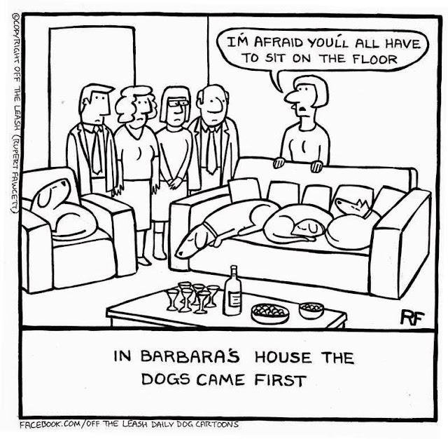 (C) 2018, Off the Leash Dog Cartoons by Rupert Fawcett