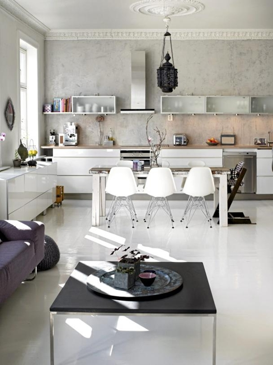 Decoritzion: Cocina-comedor-salón / Kitchen-dining-livingroom