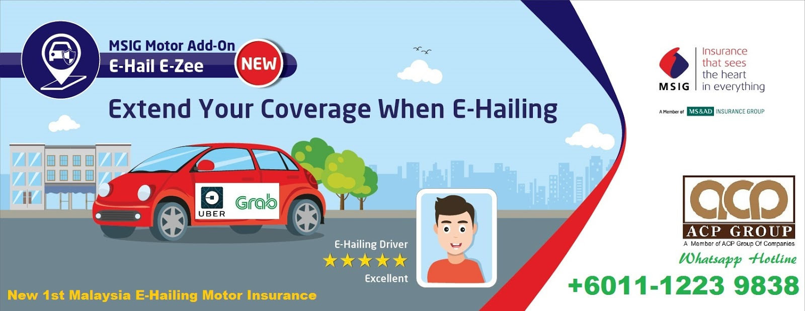 Malaysia Business Insurance Msig E Hailing Drivers Motor Insurance Offer To Uber Malaysia And