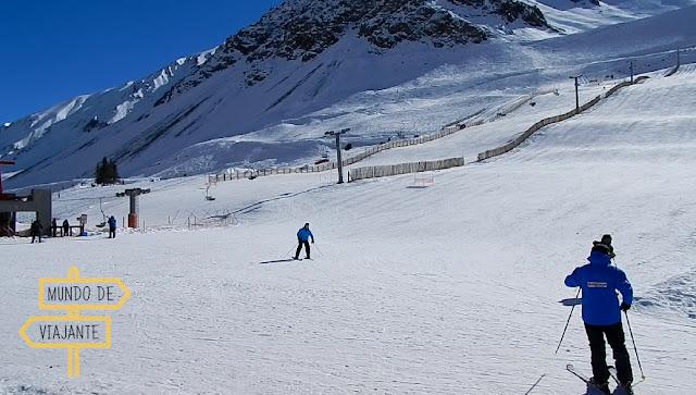 Estação de Esqui Los Penitentes passeio pelas montanhas
