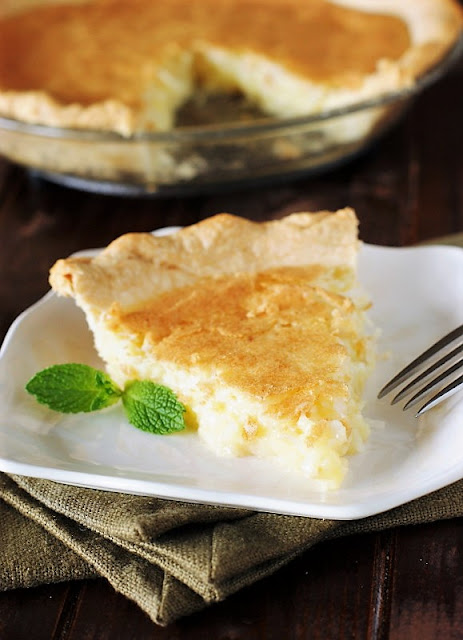 Slice of Coconut Pie Image