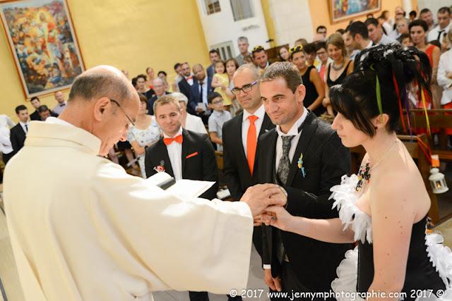 reportage mariage bénédiction des mariés