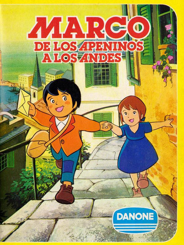 Album cromos Danone Marco de los Apeninos a los Andes 1