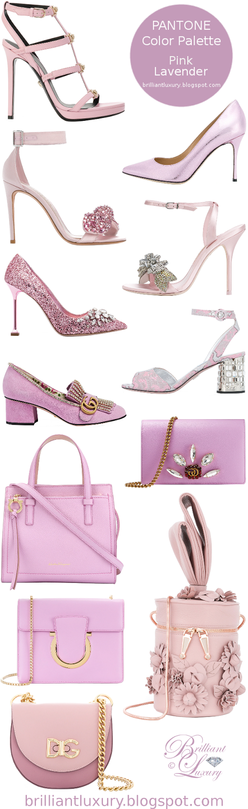 Brilliant Luxury ♦ Pantone Fashion Color ~ pink lavender