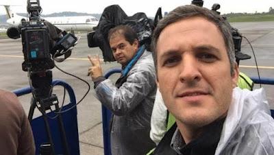 Jornalistas Record assaltados Venezuela