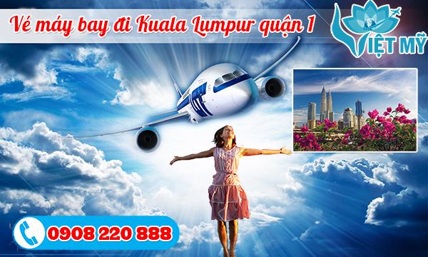 Vé máy bay đi Kuala Lumpur quận 1
