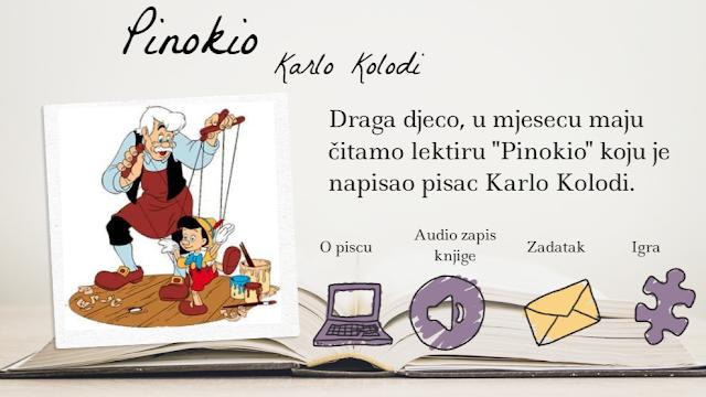 DIGITALNI ALATI - GENIALLY - LEKTIRA - PINOKIO