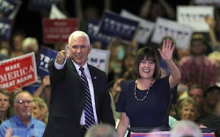 Pro-Life VP elect Mike Pence and his wife
