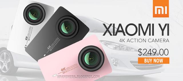 Xiaomi Yi 4K Camera 2 Deals