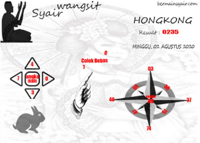 Kode syair Hongkong Minggu 2 Agustus 2020 183