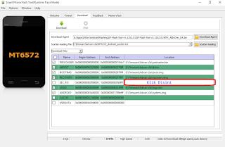 Cara Mengatasi Bootloop Advan S3A Dengan Cara Flash Ulang