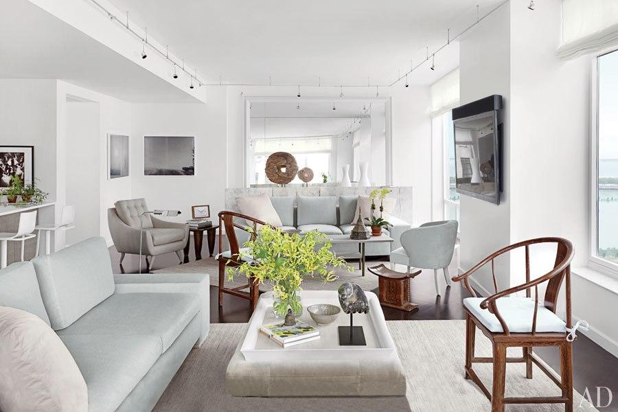 20 Something Manhattan Apartment: New Home Interior Design: A Serene Manhattan Apartment By