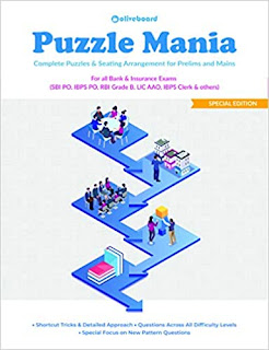 Puzzle Mania: Puzzles & Seating Arrangement for Prelims & Mains pdf free download