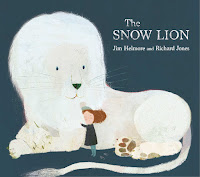 the snow lion by jim helmore and richard jones cover
