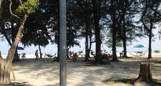 Pantai Bintang Pulau Pari