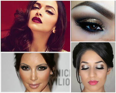 makeup style for diwali, styles for diwali makeup