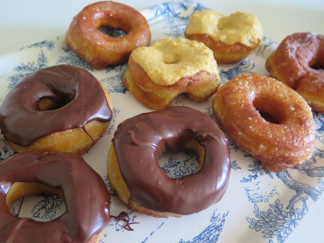 Donuts con chocolate caseros