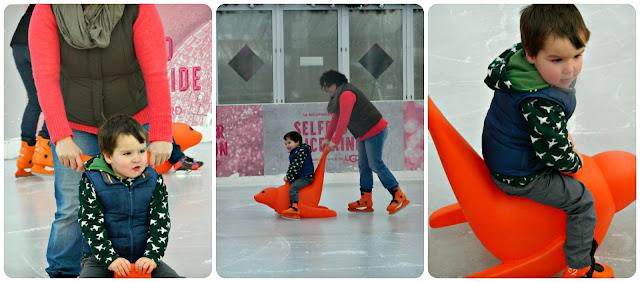 Skate Aids Skating at Selfridges Trafford Centre Ice Rink