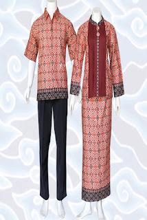 Model Gamis Batik Kombinasi Bolero