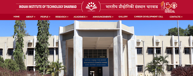IIT Dharwad, Government Jobs, Non Teaching Faculty Jobs