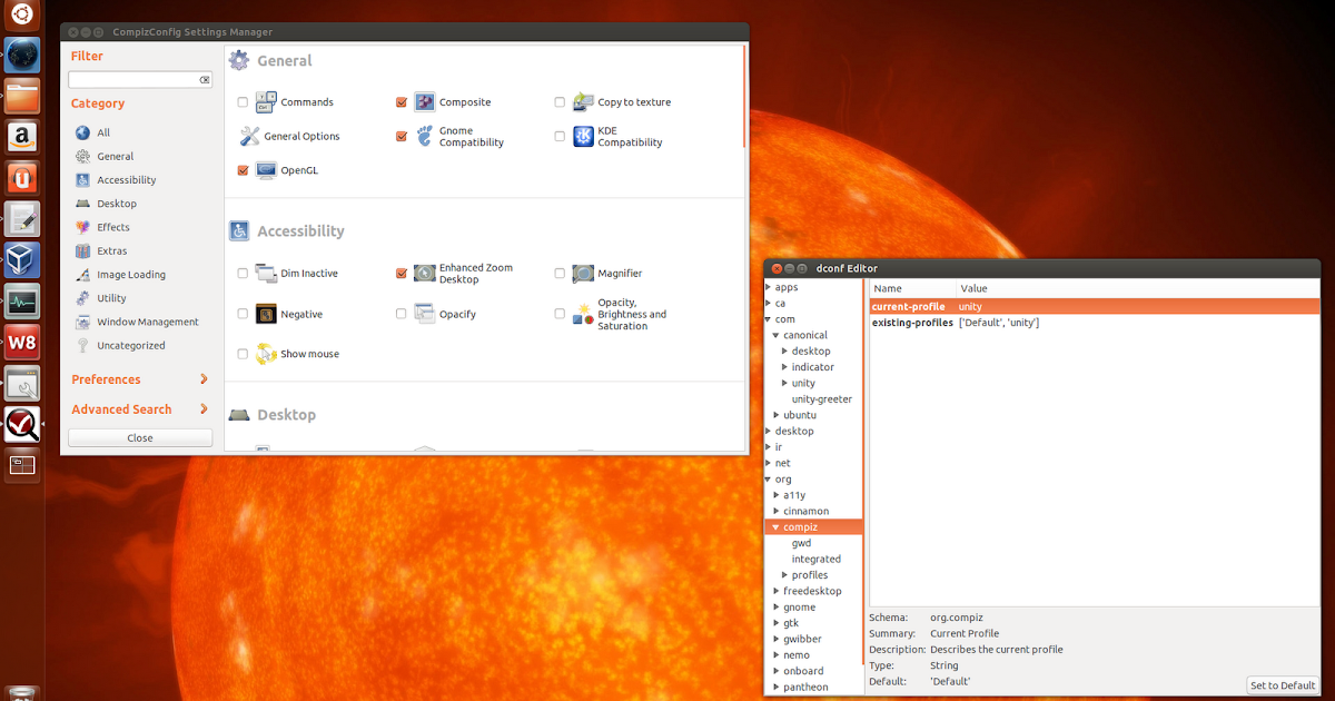 How To Reset Unity And Compiz In Ubuntu 14 04, 13 10 Or 13 04 ~ Web