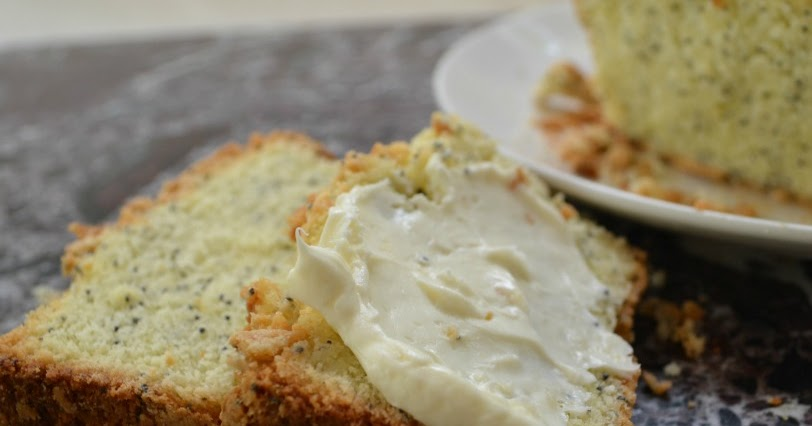 Lemon Almond Poppy Seed Pound Cake Recipe