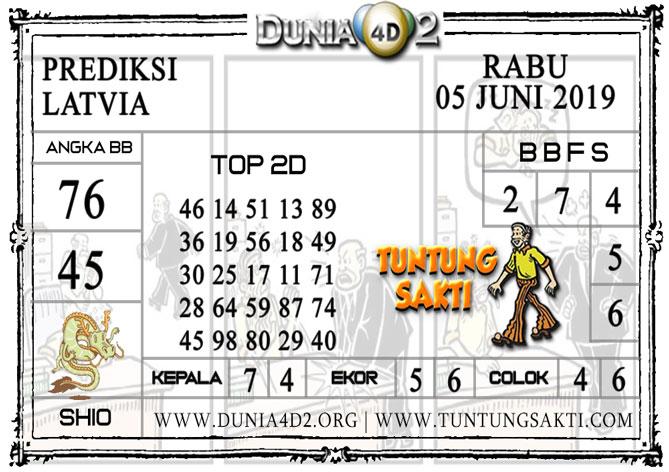 """Prediksi Togel """"LATVIA"""" DUNIA4D2 05 JUNI 2019"""